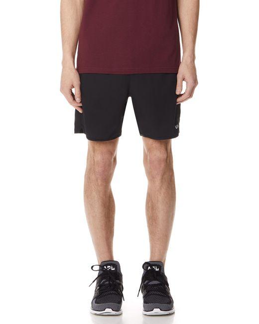 RVCA - Black Yogger Iii Shorts for Men - Lyst