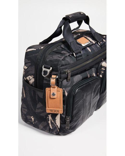 c19c9f5fe308 ... Tumi - Gray Alpha Bravo Hunter Messenger Bag for Men - Lyst ...