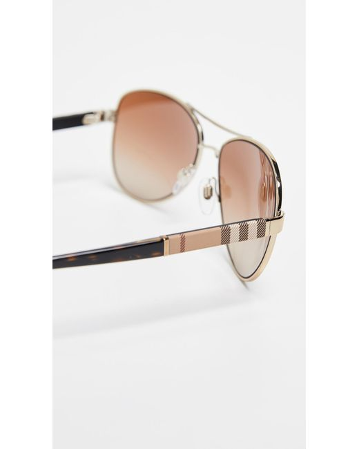 3bd471e8221 ... Burberry - Brown 0be3080 Sunglasses for Men - Lyst ...