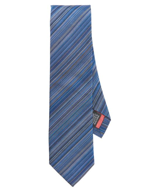 Paul Smith | Blue Multistripe Tie for Men | Lyst