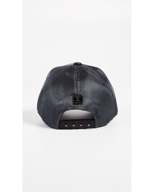 a3c484cf5d2 Mcm Classic Mesh Cap In Visetos in Black for Men - Save 34.8% - Lyst