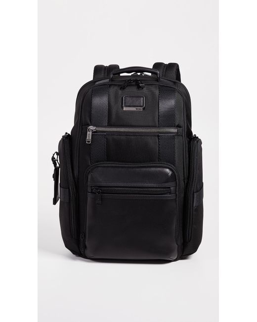 Tumi - Black Alpha Bravo Sheppard Deluxe Backpack for Men - Lyst