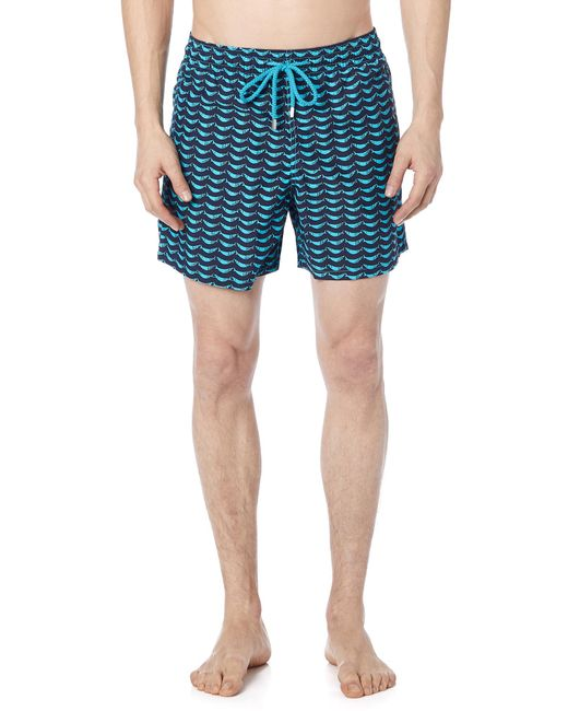 Vilebrequin - Blue Poisson Shamac Moorea Trunks for Men - Lyst