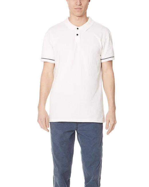 RVCA - White Walter Short Sleeve Polo for Men - Lyst
