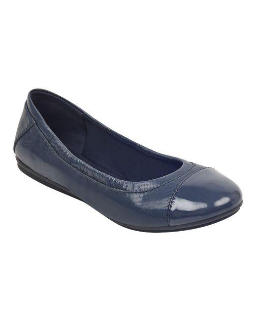 Easy Spirit Blue Gessica Ballet Flats - Bright Navy