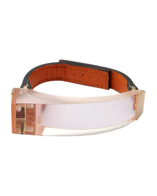 Marni | Brown Bracelet | Lyst