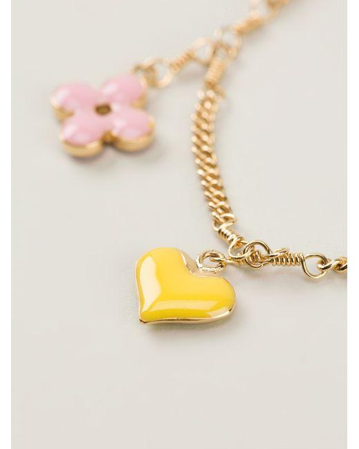 Louis Vuitton | Pink Charm Bracelet | Lyst