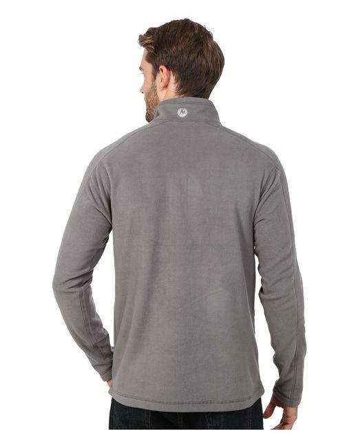 Marmot   Gray Rocklin 1/2 Zip for Men   Lyst