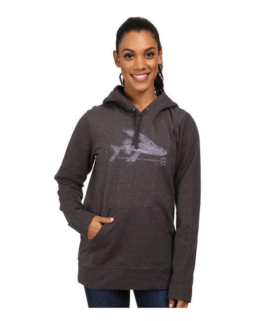 Patagonia | Black Ballpoint Flying Fish Mw Pullover Hooded Sweatshirt | Lyst