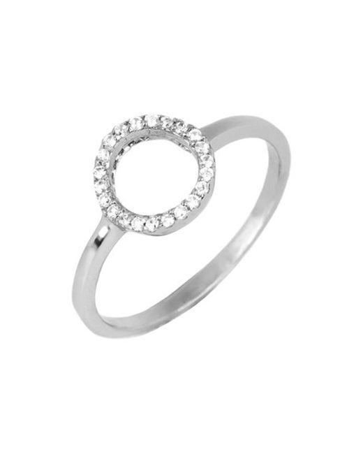 Argento Vivo | Metallic Open Circle Ring | Lyst