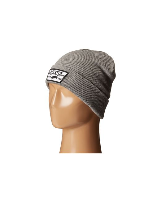 Vans | Gray Milford Beanie for Men | Lyst