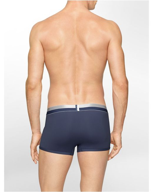 Calvin Klein   Blue Underwear Magnetic Force Micro Low Rise Trunk for Men   Lyst