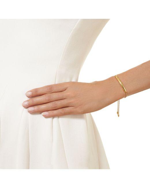 Monica Vinader   Metallic Esencia Diamond Toggle Bracelet   Lyst