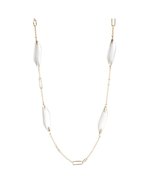Alexis Bittar | Metallic Reversible Liquid Link Station Necklace You Might Also Like | Lyst