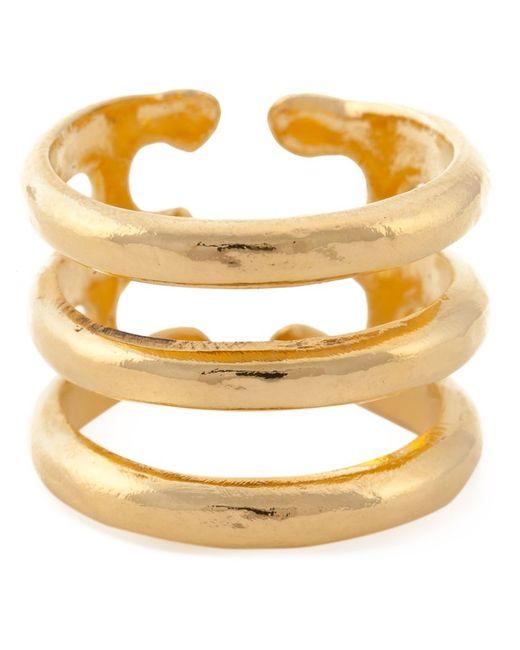 Aurelie Bidermann   Metallic 'esteban' Ring   Lyst