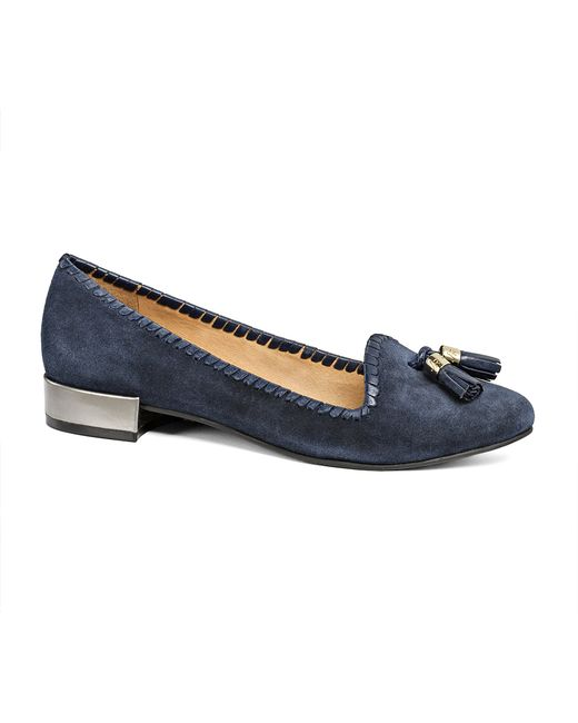 Jack Rogers | Blue Gabrielle Suede | Lyst