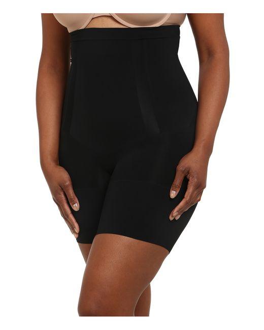 Spanx | Black Plus Size Oncore High-waist Mid-thigh | Lyst