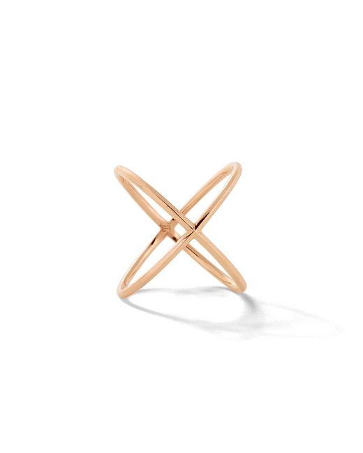 Eva Fehren - Pink X Ring - Lyst
