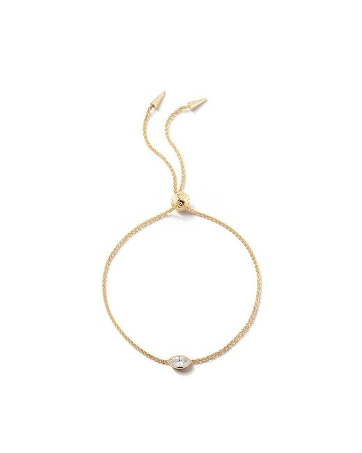 Jemma Wynne - Yellow Solitaire Slider Bracelet - Lyst
