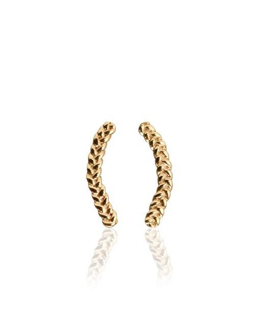 Jennifer Fisher | Metallic Braid Earrings | Lyst