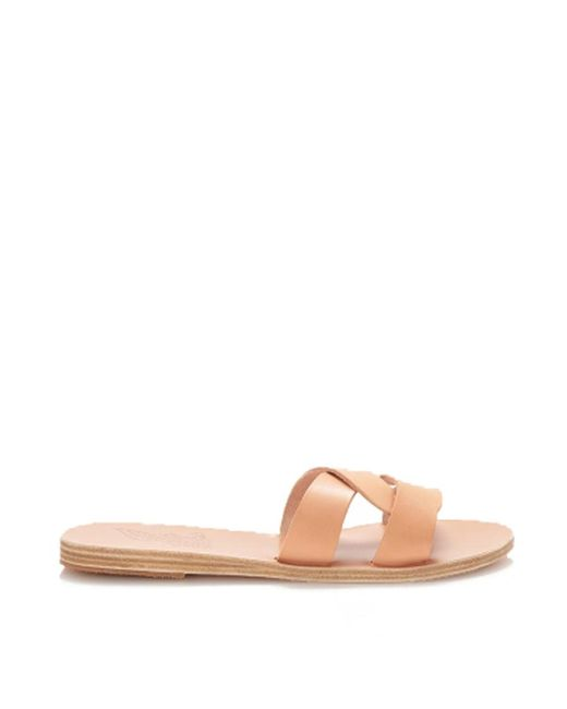 Ancient Greek Sandals - Desmos Sandal In Natural - Lyst