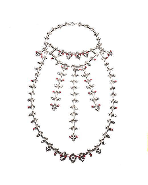 DANNIJO | Metallic Philo Necklace | Lyst