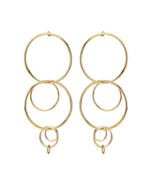 Jennifer Fisher | Metallic Xl Multi Hoop Earrings | Lyst