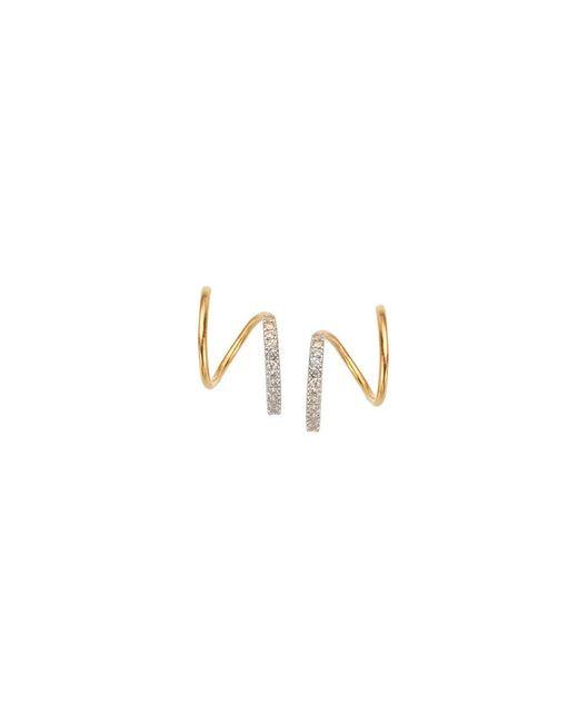 Maria Black - Metallic Bela Blanc Twirl Earring - Lyst