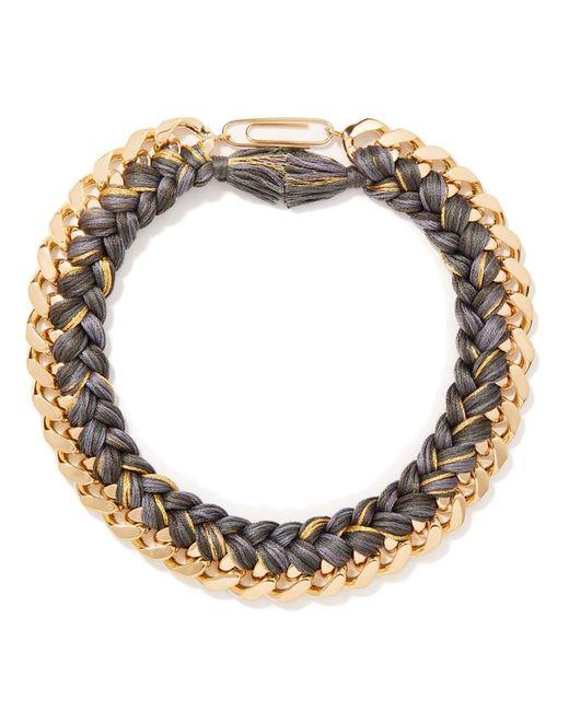 Aurelie Bidermann   Gray Do Brazil Necklace In Charcoal   Lyst