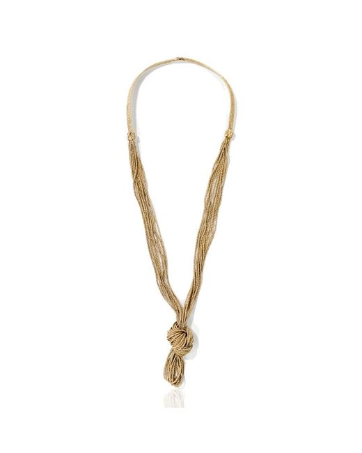 Aurelie Bidermann | Metallic Miki Necklace | Lyst