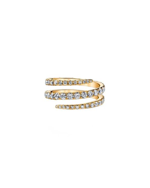 Anita Ko | Yellow Gold Pinky Coil Ring | Lyst