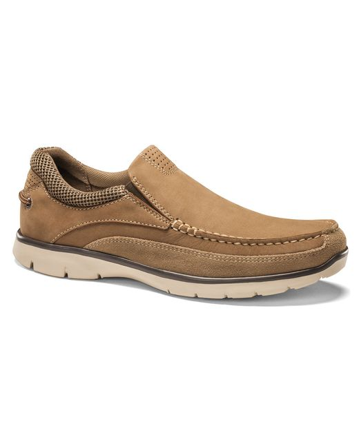 dockers walsh slip on in brown for taupe lyst