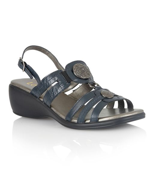 Lotus | Blue Berty Open Toe Sandals | Lyst