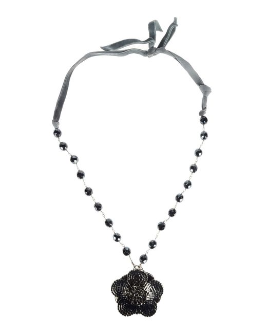 Donatella Lucchi | Gray Necklace | Lyst