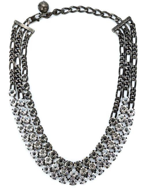 Lanvin   Black 'kristin' Necklace   Lyst