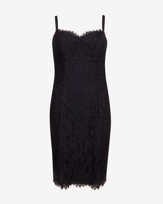 Ted Baker | Black Glina Colour Block Pleated Dress | Lyst