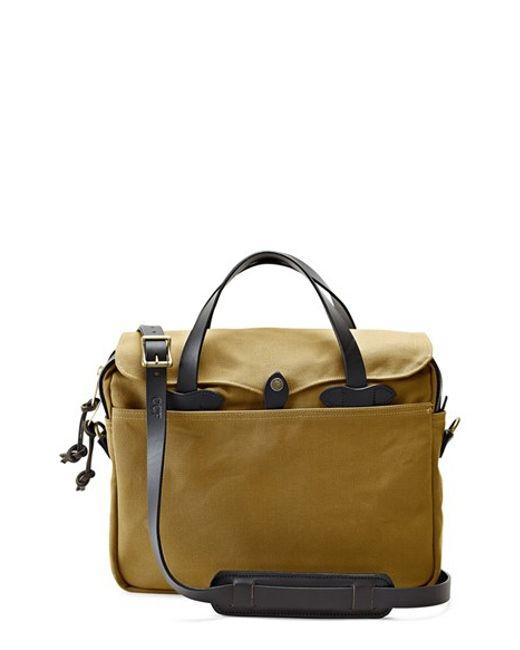 Filson | Brown 'original' Briefcase for Men | Lyst