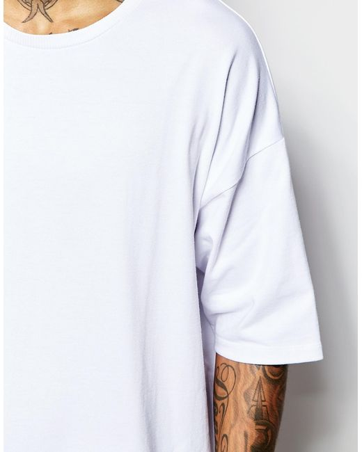 Asos Super Oversized T Shirt In Heavyweight Jersey In