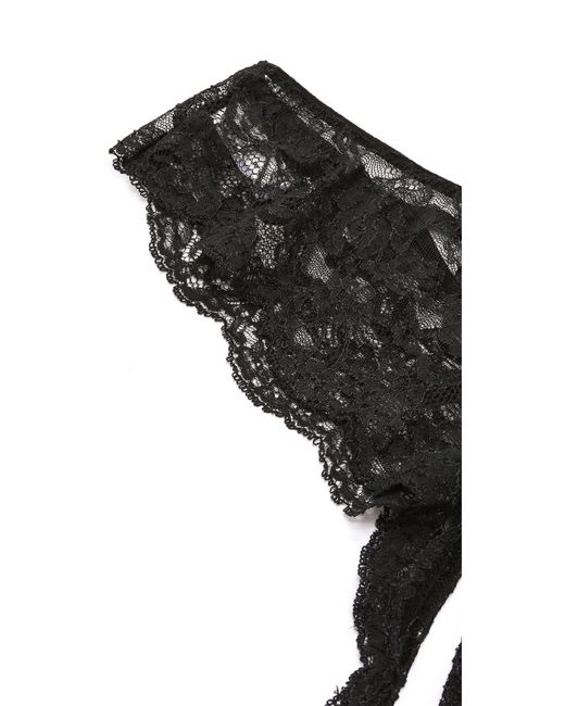 Fleur du Mal | Black Leavers Lace Panties | Lyst