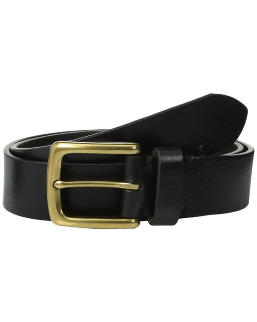 Fossil | Black Bison Series Belt for Men | Lyst