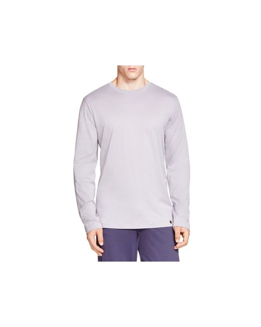 Hanro | Purple Night And Day Long Sleeve Tee for Men | Lyst