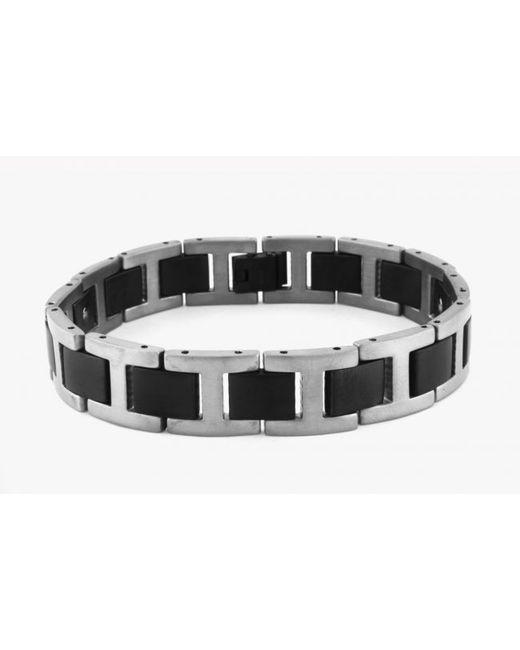 Tateossian | Black Magnetic Balance Bracelet In Titanium With Germanium Stones for Men | Lyst