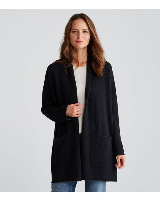 Eileen fisher Exclusive Lofty Recycled Cashmere Kimono Cardigan in ...