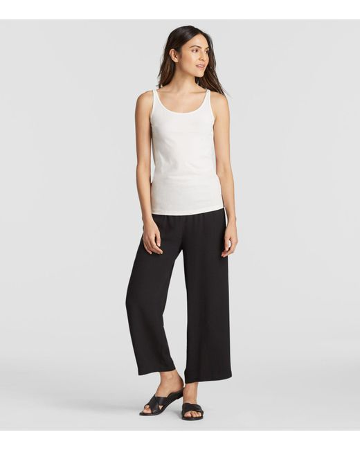 Eileen Fisher - Multicolor System Silk Jersey Cami - Lyst