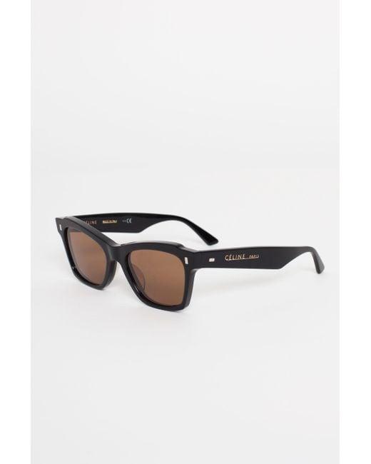 3dd0bef7b4 ... Céline - Black Cat Eye Sunglasses - Lyst ...