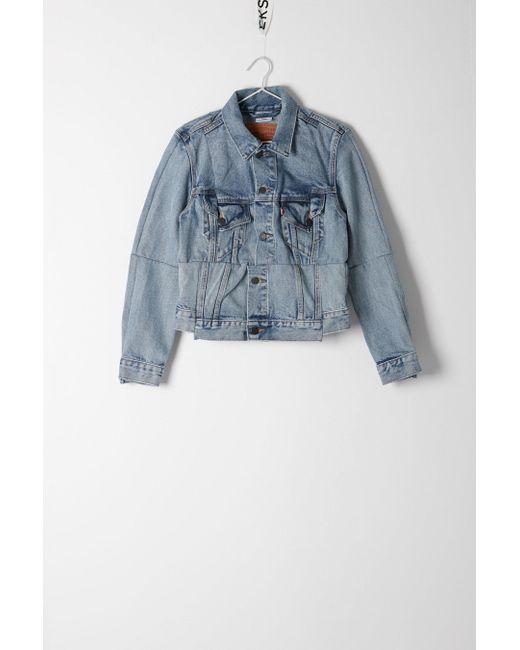 Vetements | Blue Levi's Reworked Denim Jacket | Lyst