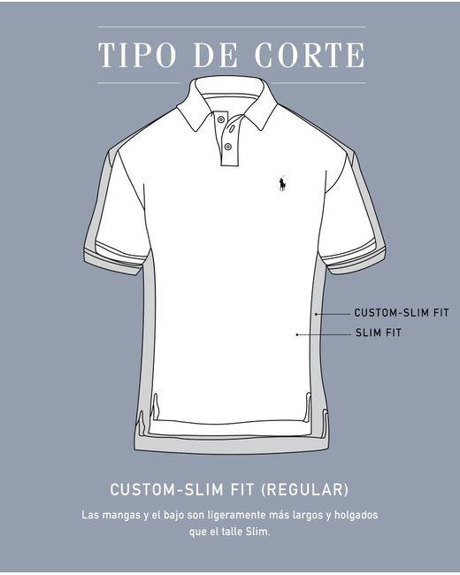 Polo Ralph Lauren Red Maroon Short Sleeve Regular Fit Shirt For Men