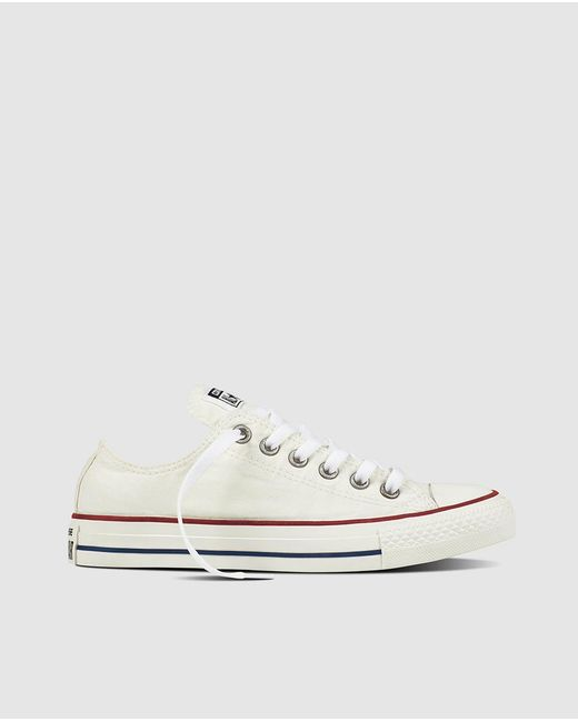 Converse | All Star Chuck Taylor White Canvas Trainers | Lyst