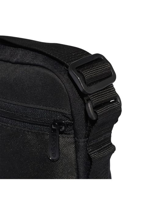 ... Adidas - Black Linear Core Bag for Men - Lyst ... 351784f636