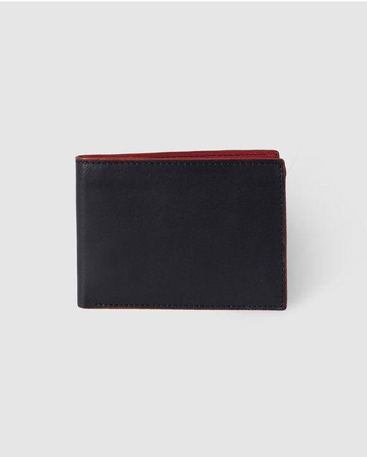 El Corte Inglés - Mens Plain Black Leather Wallet for Men - Lyst